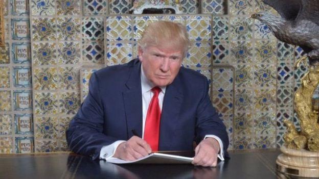 Trump aliagiza kuzuia waislam wa nchi saba kuingia Marekani