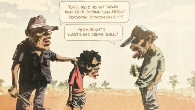 Bill Leak's controversial cartoon