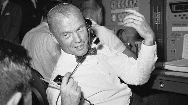 John Glenn akiwa Nasa mwaka 1963