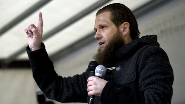 Salafist preacher Sven Lau, file pic