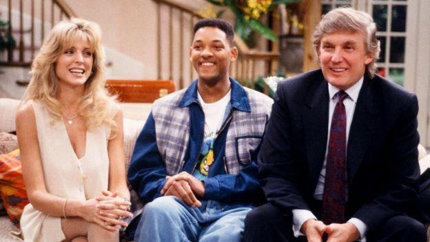 Роман Дональда Трампа с телевидением длится уже более 30 лет: он начался с эпизодических ролей в комедийных сериалах наподобие