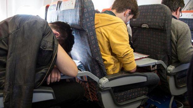 Hành khách trên chuyến bay