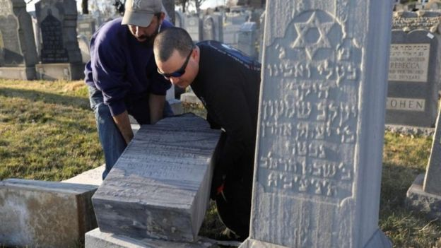 هجمات على مئات من المقابر اليهودية بمدينة فيلاديفيا الأمريكية