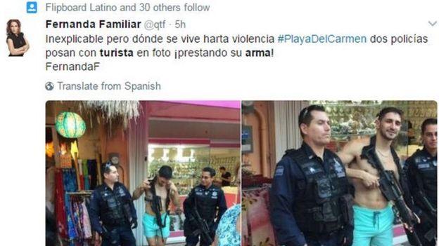 Tweet by Fernanda Familiar reading: