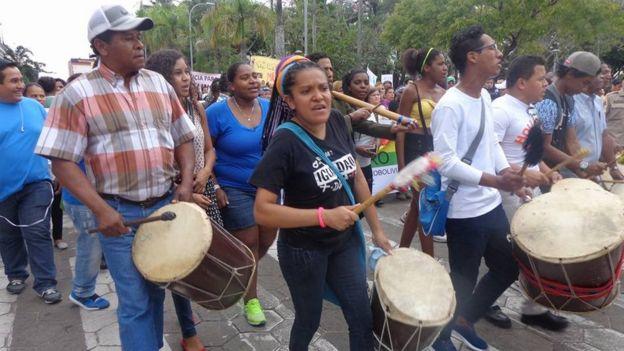Marcha por la muerte de Ana Medina