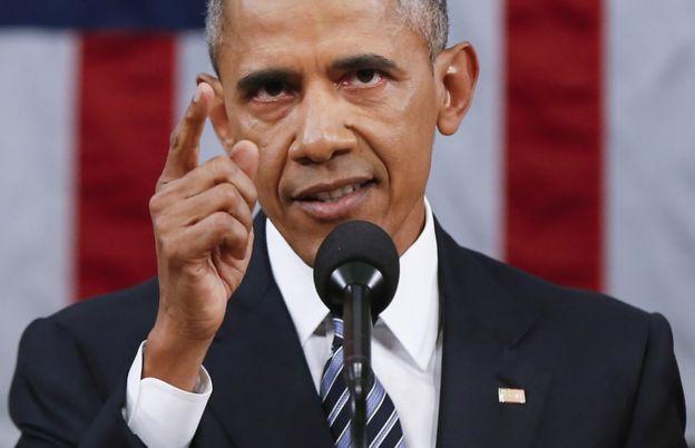 Barack Obama, el presidente saliente de Estados Unidos.
