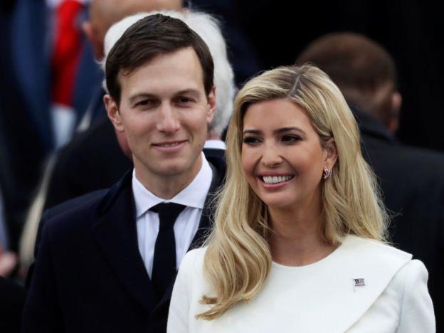 Ivanka Trump no ostenta cargo oficial, pero sí su marido Kushner.