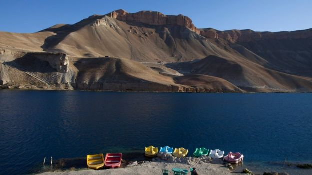 Lake in Bamiyan province