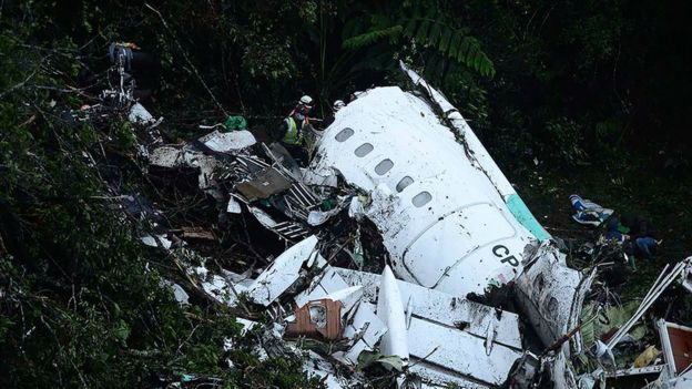avión accidente Medellín
