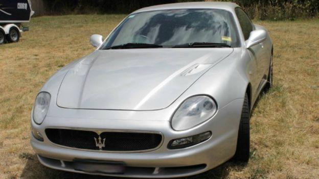 Машина Maserati