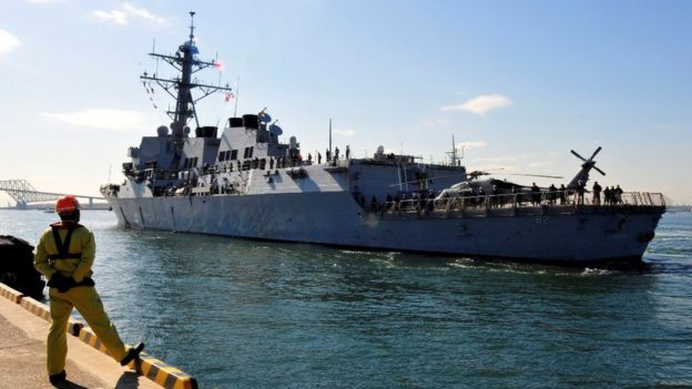 _86342729_lassen - US warship sails near islands claimed by China: official - Talk of the Town