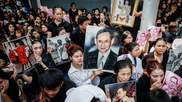 Người dân ở Bangkok