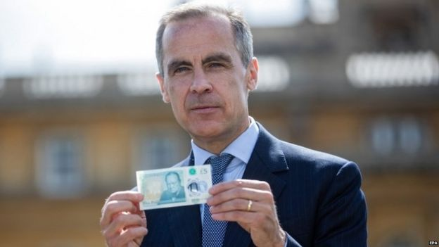 Mark Carney, gobernador del banco de Inglaterra