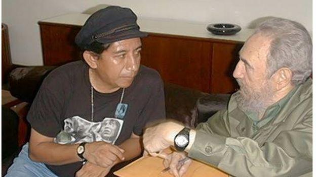 Olivera con Castro