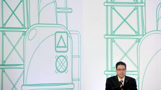 Presidente de la Comisión Nacional de Hidrocarburos Juan Carlos Zepeda.