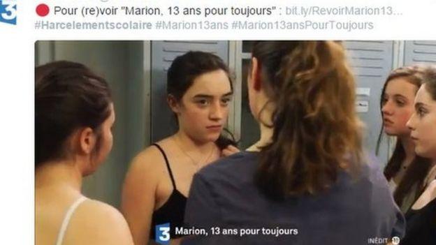Cena do filme inspirado na história de Marion Fraisse