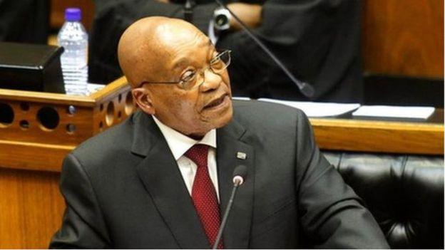 Rais wa Afrika Kusini Jacob Zuma, atatoa hotuba kwa taifa leo Alhamisi