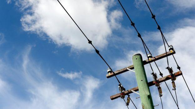 Cables de electricidad