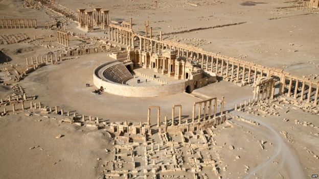 85149639 028683937 1 - Palmyra's Baalshamin Teple blown uop by IS