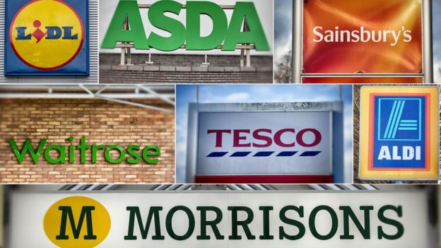 pic of all the supermarket logos