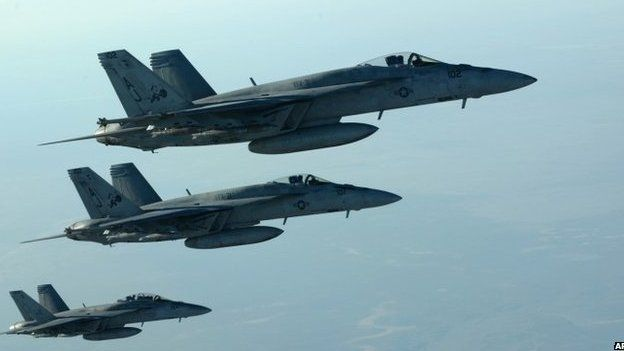 US F-18E Super Hornets