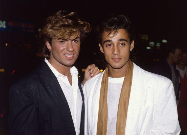 George Michael y Andrew John Ridgeley