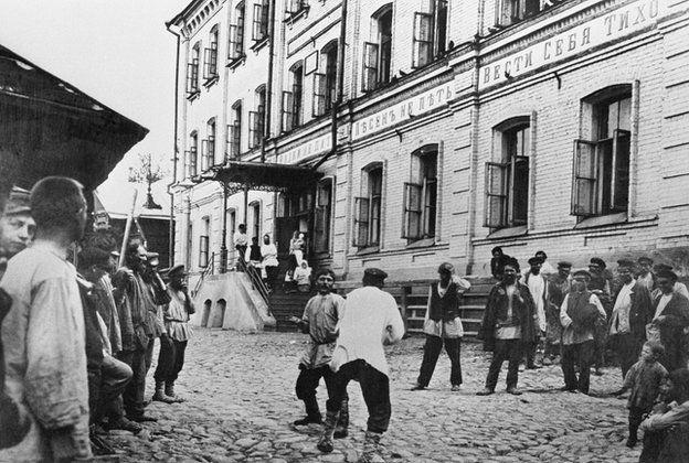 Сцена в Нижнем Новгороде