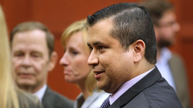 George Zimmerman leaves the courtroom a free man after being found not guilty of shooting Trayvon Martin - July 13, 2013 in Sanford, Florida