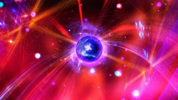 Imagen que representa la física cuántica