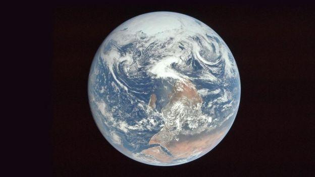 Fotografía de la Tierra