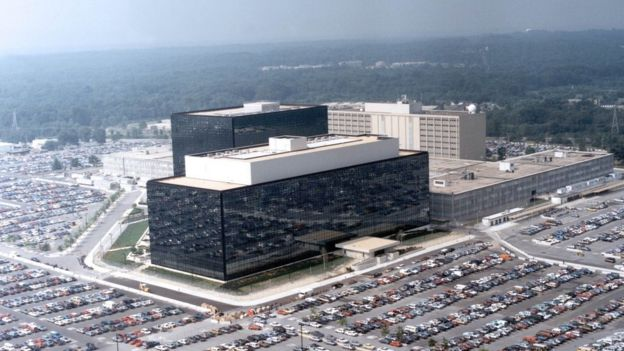 National Security Agency HQ in Fort Meade