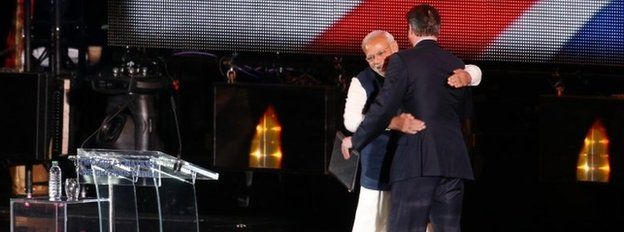 Mr Modi and Mr Cameron