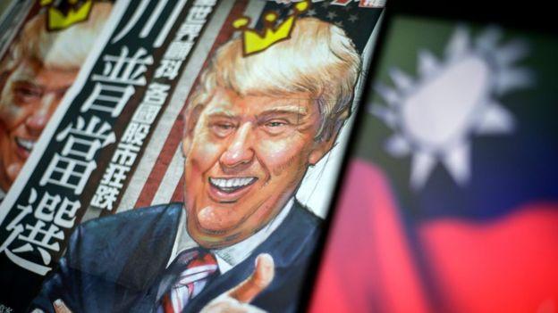 China imekashirishwa na maoni ya Trump kuihusu Taiwan