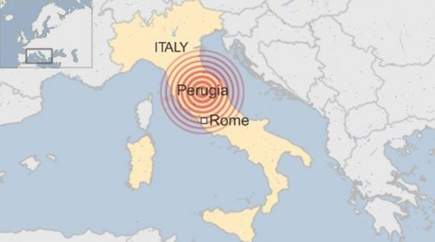 A magnitude 6.2 earthquake has struck central Italy