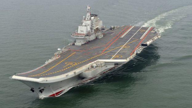中国航母辽宁号