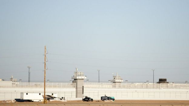 Cárcel donde está detenido Joaquín