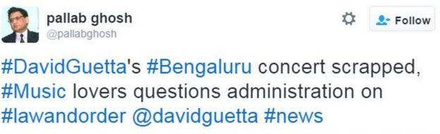 #DavidGuetta's #Bengaluru concert scrapped, #Music lovers questions administration on #lawandorder @davidguetta #news