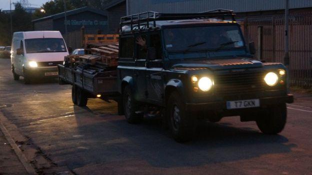 Aid Box Convoy