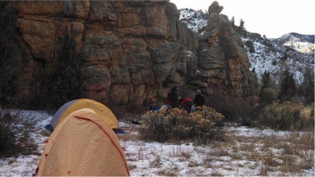Montañas rocosas de Colorado