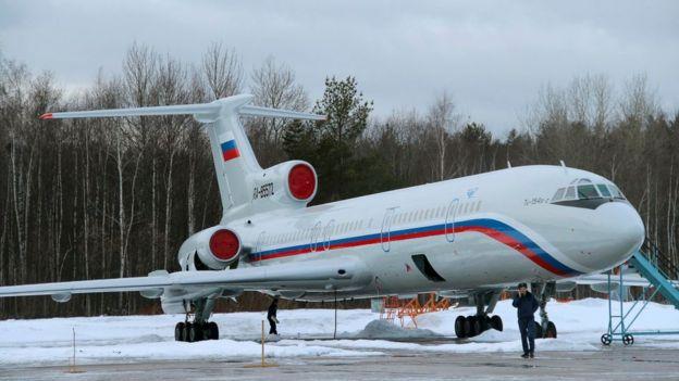 Погибший Ту-154
