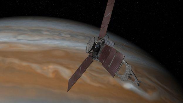 Junto sobre Júpiter
