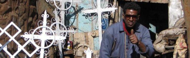 Eritrean metal worker