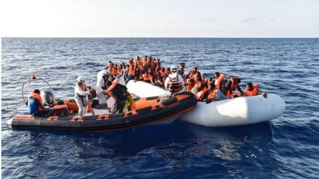 قایق پناهجویان