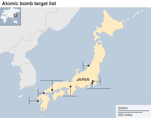 Kokura Japan Map.The Man Who Saved Kyoto From The Atomic Bomb Bbc News