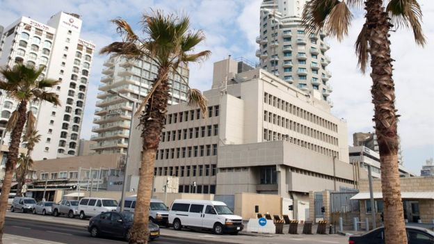 US embassy in Tel Aviv (Dec 2016)