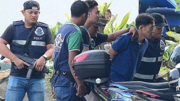马来西亚警方已经逮捕一名朝鲜嫌疑人。