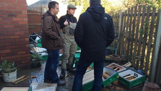 Flood-hit York residents