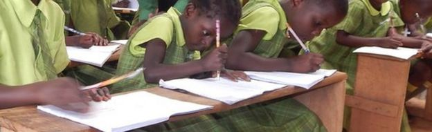 A Bridge International class in Uganda