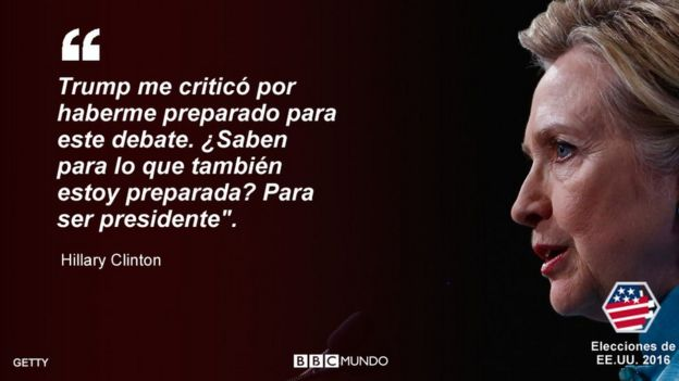 Trump A La Defensiva Clinton Al Ataque 7 Frases Memorables