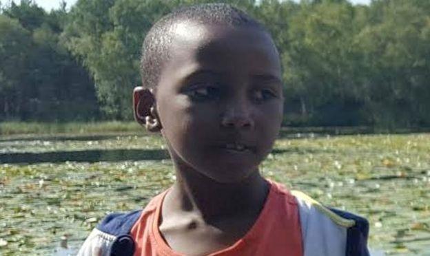 Family handout image of Yuusuf Warsame